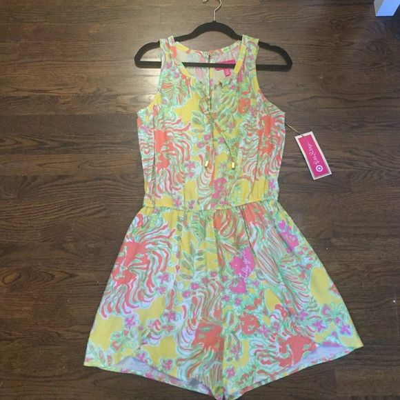 Lilly for Target Romper Size M Lilly Pulitzer for Target romper. Never worn - has tags. Lilly Pulitzer for Target Other