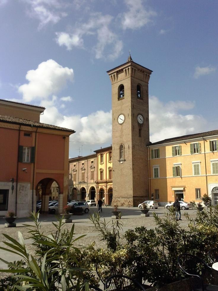 Centro storico Bagnacavallo (RA)