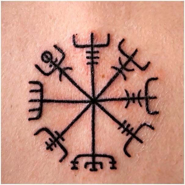 Vegvisir troll tattoos i like pinterest tattoo for Garden gnome tattoo designs
