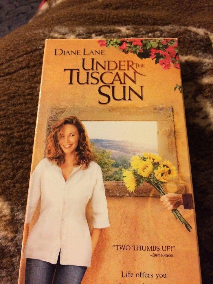 Under the Tuscan Sun (VHS, 2004) Diane Lane  | eBay