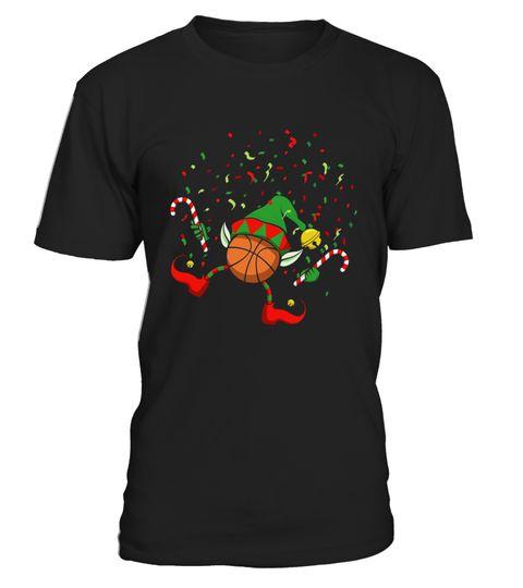 Dancing Basketball Christmas Elf
