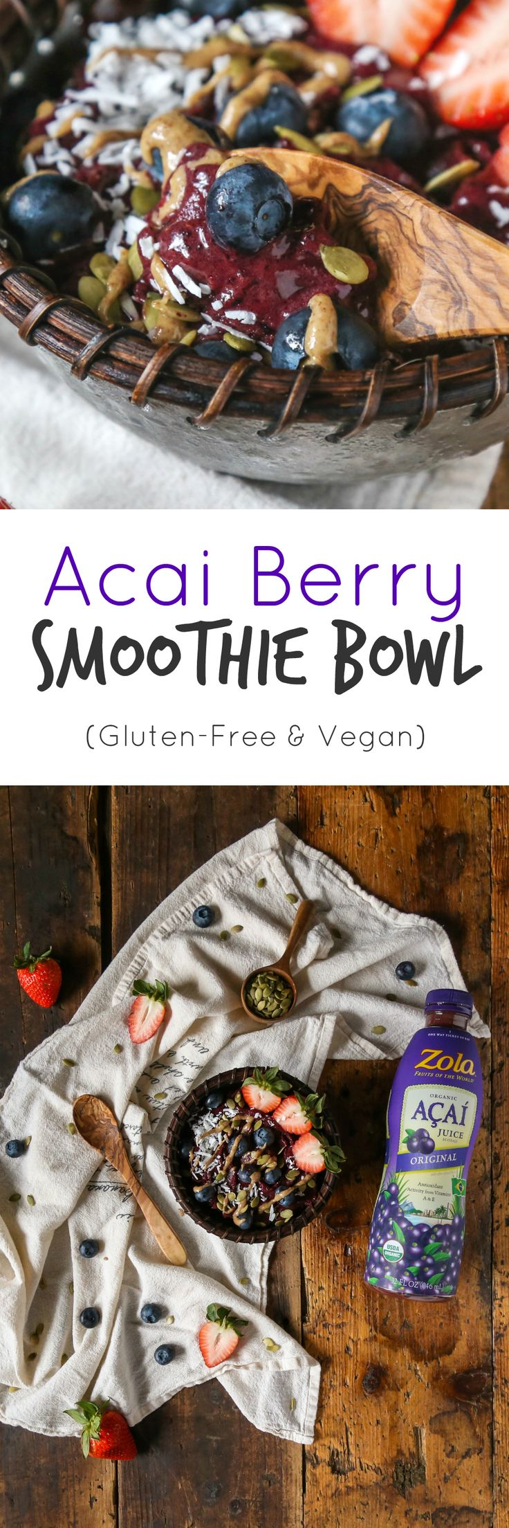 Acai Berry Smoothie Bowl - The Plant Philosophy #smoothies #smoothie #smoothiebowl #recipe #breakfast #Healthybreakfast #snack #superfood #onthego #recipe #gf #vegan #fruit #Fruitrecipes #Acai #Berry