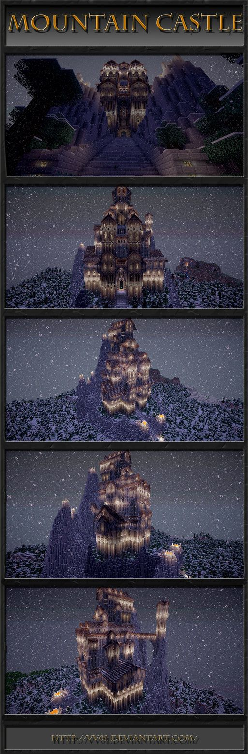 Amazing mountain castle.