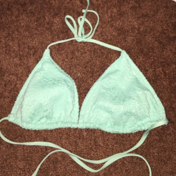 triangle bikini top seafoam blue triangle top Mossimo Supply Co. Swim Bikinis