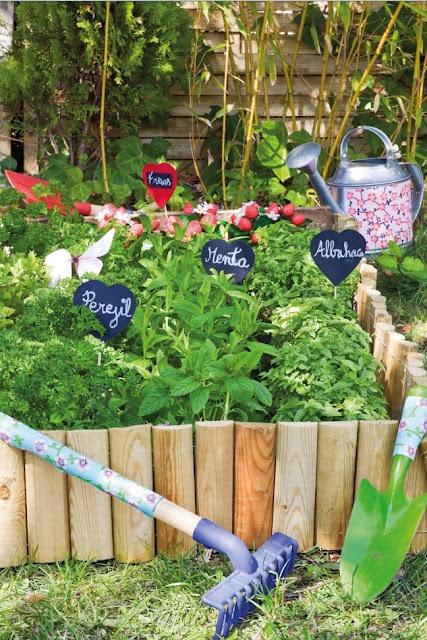 17 mejores im genes sobre hort escolar en pinterest - Huerto de plantas aromaticas ...