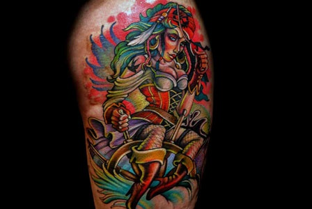 Teresa 39 s ink best ink season 2 i love this tattoo for Bloody ink tattoo price