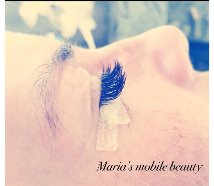 8-12mm from the inner to outer corner. Individual eyelash extensions  https://www.facebook.com/pages/Marias-Mobile-Beauty/100295140060478