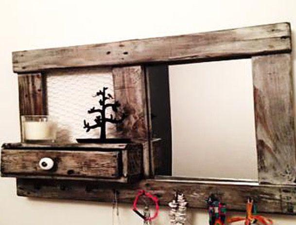 25 best ideas about miroir porte bijoux on pinterest. Black Bedroom Furniture Sets. Home Design Ideas
