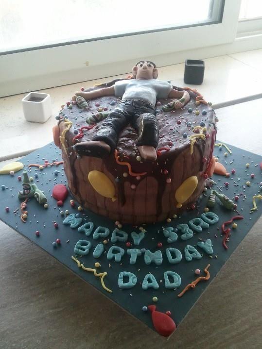 Hungover Cake