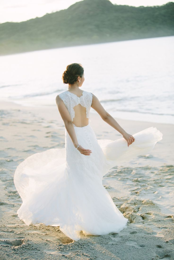beach wedding south west uk%0A Intimate Costa Rica Wedding at Reserva Conchal Resort