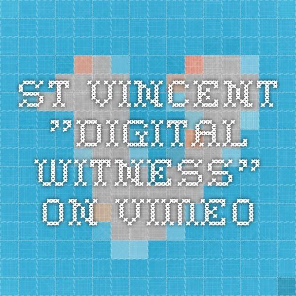 """St. Vincent """"Digital Witness"""" on Vimeo"""