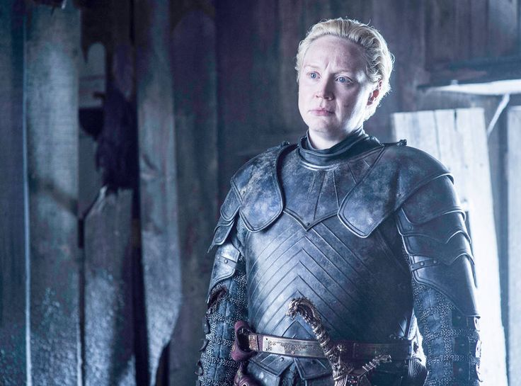 Brienne of Tarth from Game of Thrones Catch Up When last we saw Brienne of Tarth, she was waving goodbye to Jaime and rowing away with Podrick (Daniel Portman) after Jaime took Riverrun, and her plans to get the Blackfish to help Sansa had failed.