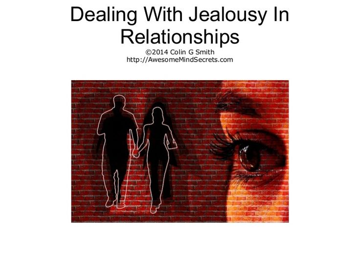 article jealousy relationship problems