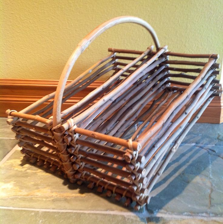 Basket Weaving With Willow Branches : Best weaving ideas images on
