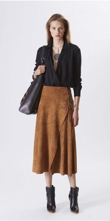 Laura Black Suede Trendy Fashion 15898976