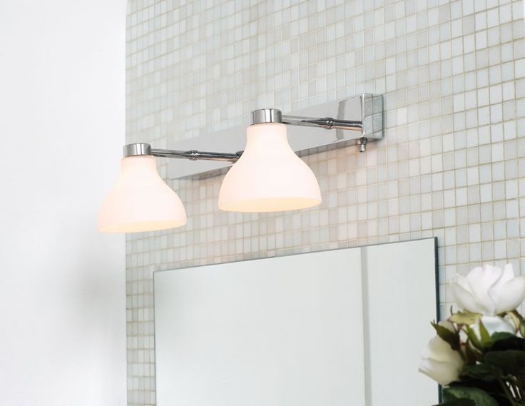 Herstal Kelby Duo Vegglampe Hvit | Designbelysning.no