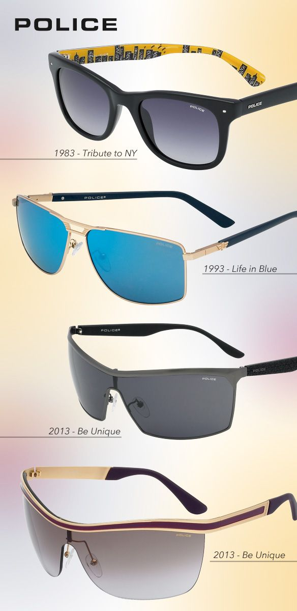 Iconic Sunwear for Police's 30-Year Jubilee: http://eyecessorizeblog.com/?p=5831