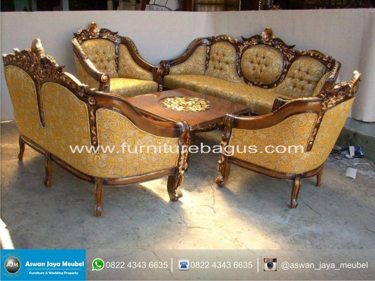 Sofa Tamu Ganesa Mawar