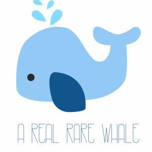 Plakat A real rare whale / Wieloryb - NUNU BABA