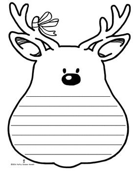 winter holiday writing paper free