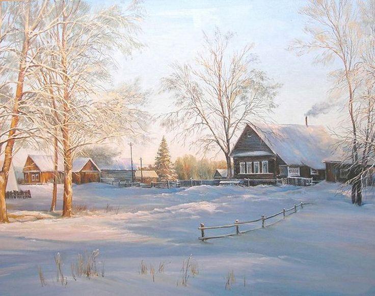 красивые рисунки художников русских работа