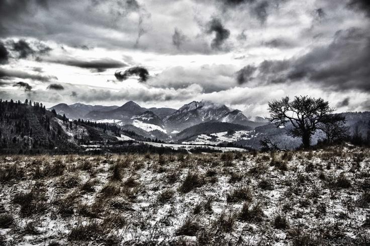 Winter in Pieniny