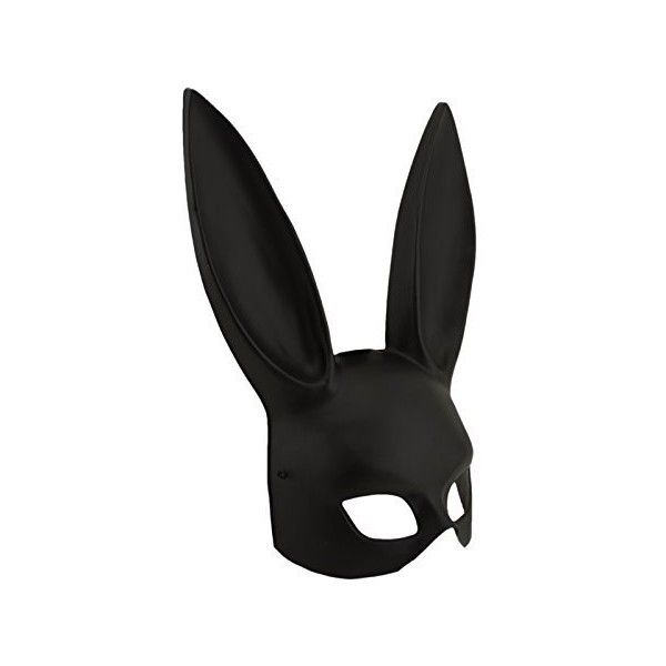 Adorox Sexy Bondage Masquerade Bunny Rabbit Mask Adult Halloween... ($14) ❤ liked on Polyvore featuring costumes, sexy halloween costumes, masquerade costume, sexy costumes, black costume and sexy adult costumes