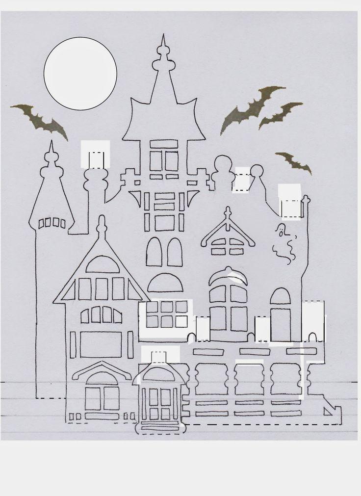 Жопой самые, 3д открытки из бумаги архитектура