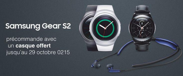 La montre Samsung Gear S2 est disponible à la précommande avec un casque offert - http://www.frandroid.com/marques/samsung/317505_montre-samsung-gear-s2-precommande-casque-offert  #Montresconnectées, #Samsung, #Tizen