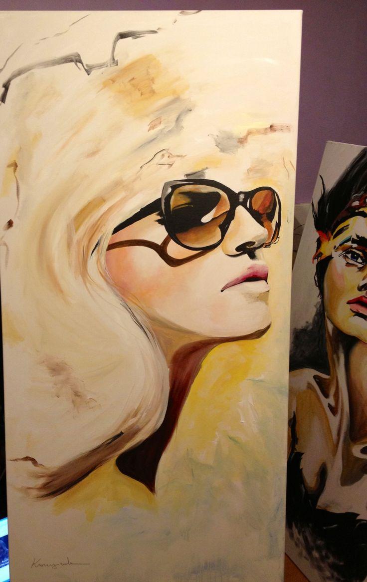 Fashion painting