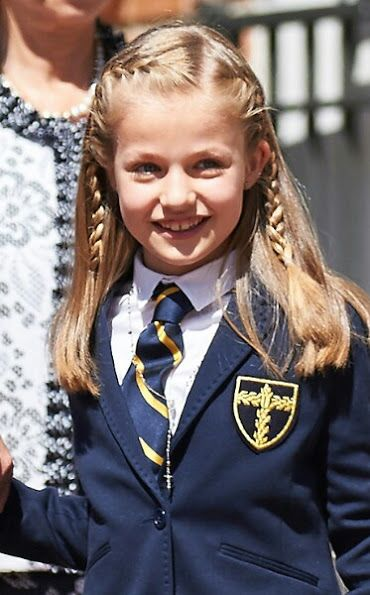 Leonor, Princess of Asturias, Spanish Royals attends their daughter Leonor's first communion