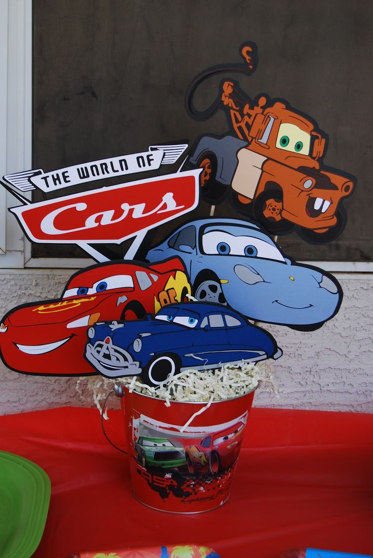 Crafty Teacher Mom: Disney Cars Birthday Party!