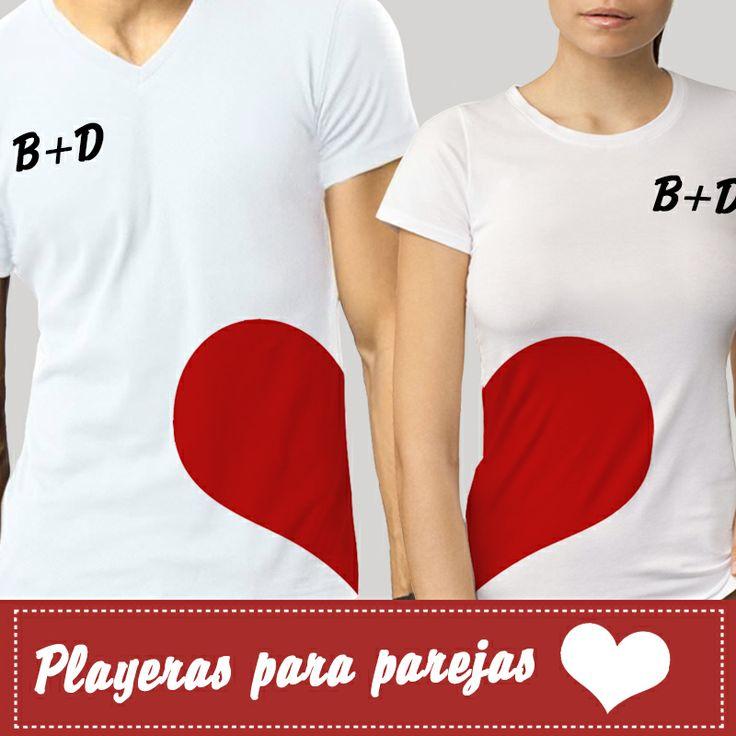 17 mejores ideas sobre playeras para parejas en pinterest - Ideas originales para parejas ...