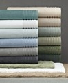 Hotel Collection Bath Towels - MicroCotton Collection- Web ID: 91086 Color: Eucalyptus & Linen