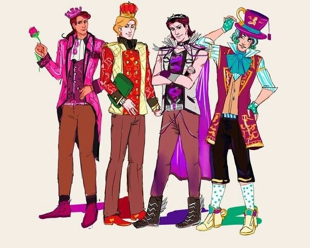 Genderben Apple, Briar, Raven & Maddie