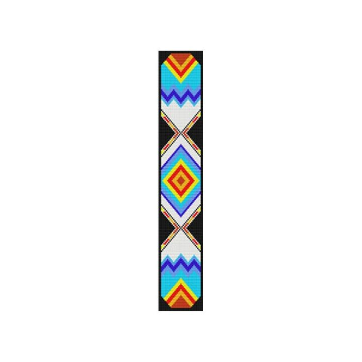 29 best images about more beading patterns on pinterest for Native design