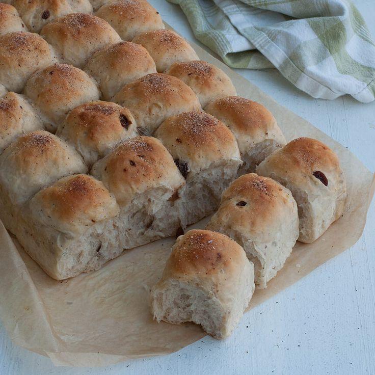 Så bekvämt och enkelt att baka matbröd i långpanna!