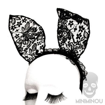 Bunny ears - Orelhas de renda