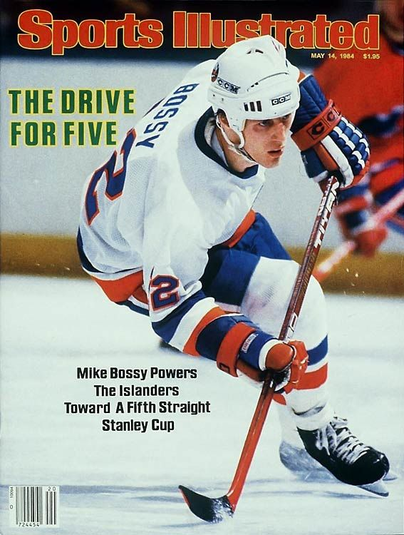 "Mike Bossy, 1984: ""The right winger, considered the best pure goal-scorer in NHL history, was coming off his 7th straight 50-plus tally season, but the Islanders' dynasty was running out of gas in its 5th consecutive Cup final appearance. In a rematch with Wayne Gretzky's Oilers, Bossy failed to score in the 5 games and produced only 3 assists as Edmonton took the Cup and began a dynasty of its own."""