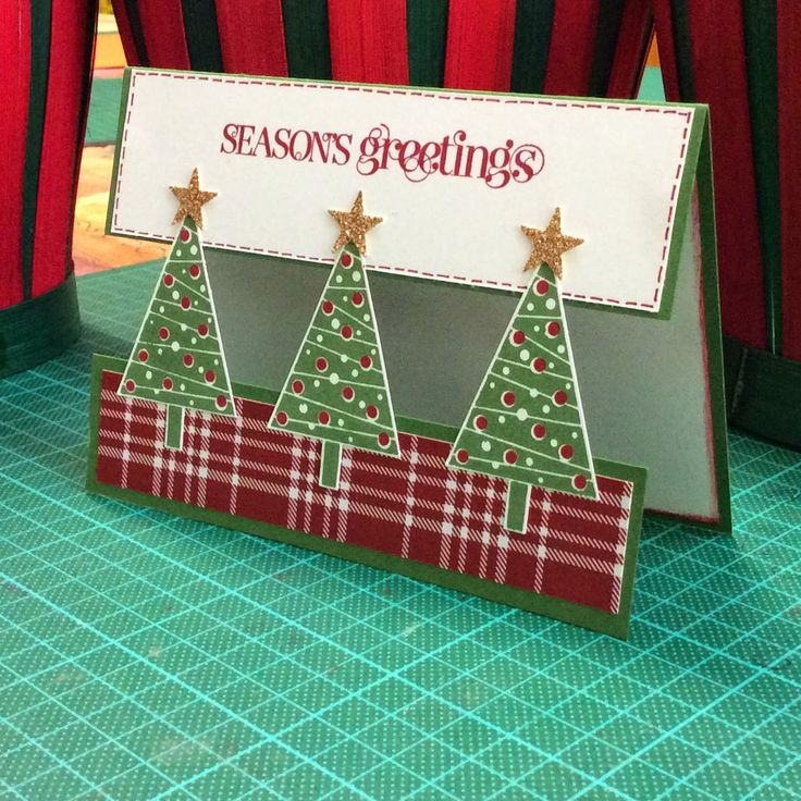 Sharyn's Inspirational Cards: Festival of Trees