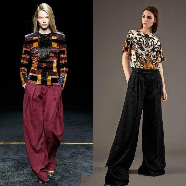 Что модно весеннем сезоне-модные женские брюки весна-лето 2017 года