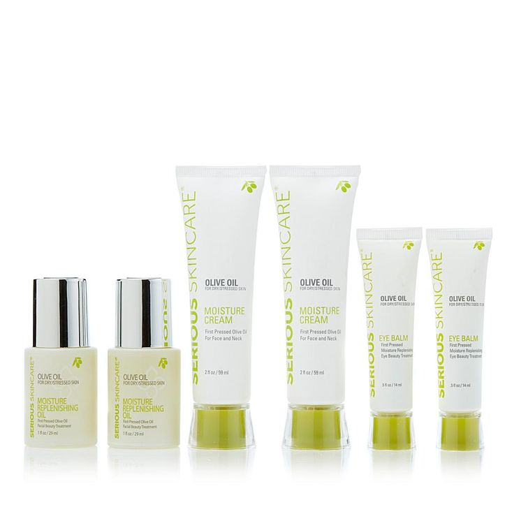 Serious Skincare by Jennifer Flavin-Stallone Serious Skincare Olive Oil for Dry Skin Double Up Trio
