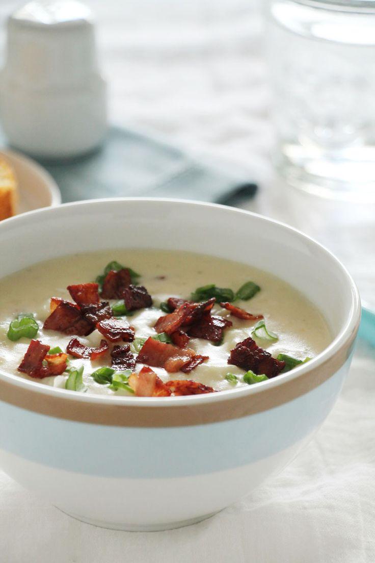 Εύκολη και κρεμώδης πατατόσουπα