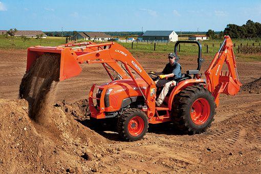 Kubota Tractor Corporation - Tractors   L Series   L3200 L3800