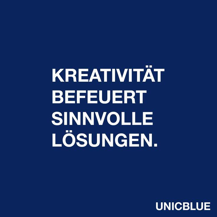 Kreativität befeuert sinnvolle Lösungen.