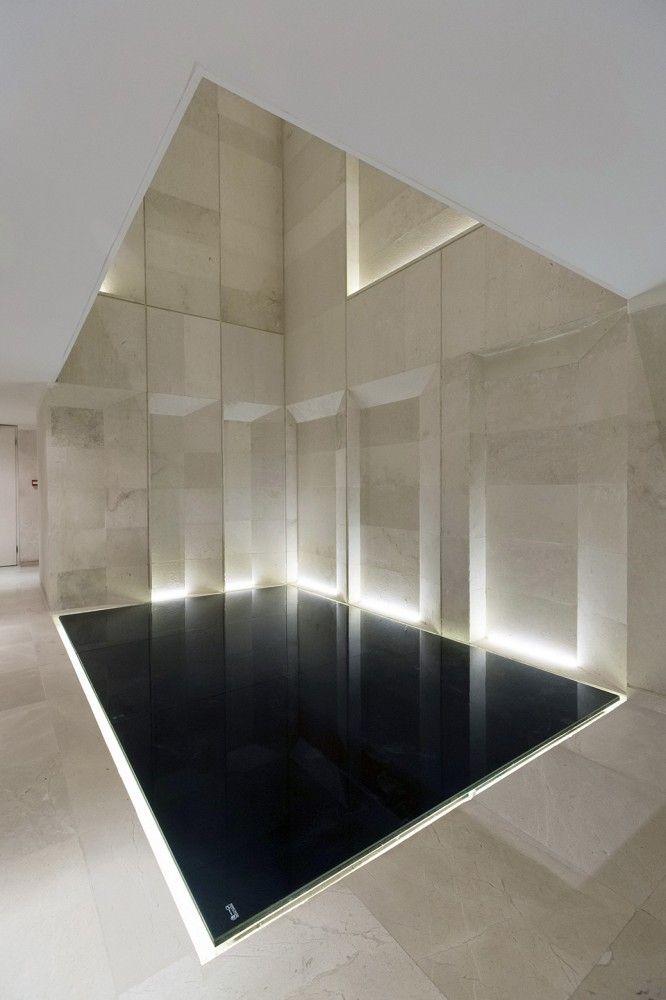 Indoor pool - Sipan Residential Building  in Tehran, Iran by RYRA Studio