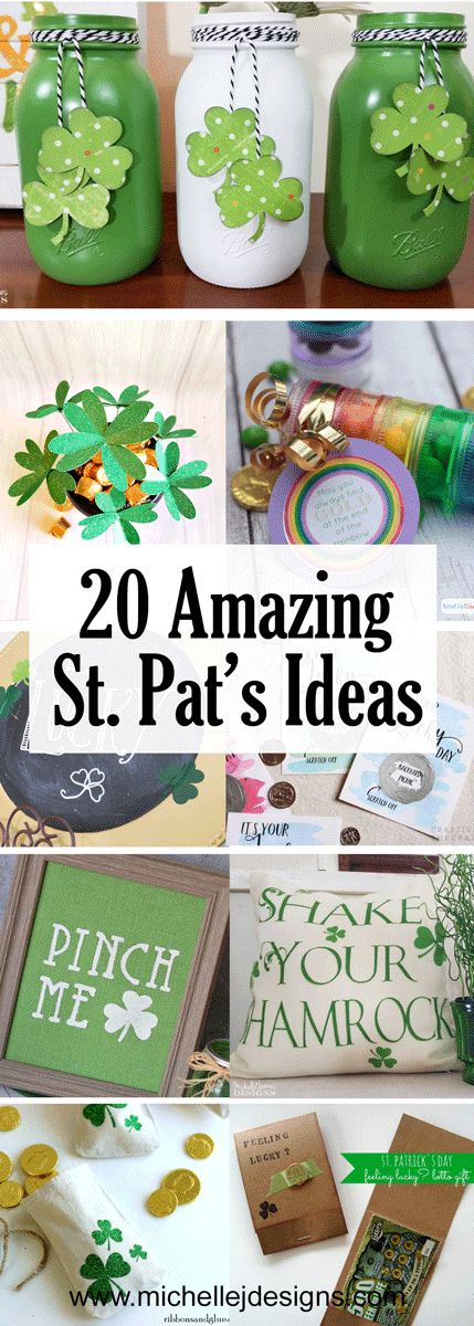 20 Amazing St. Patricks Day Ideas – crafts and recipes