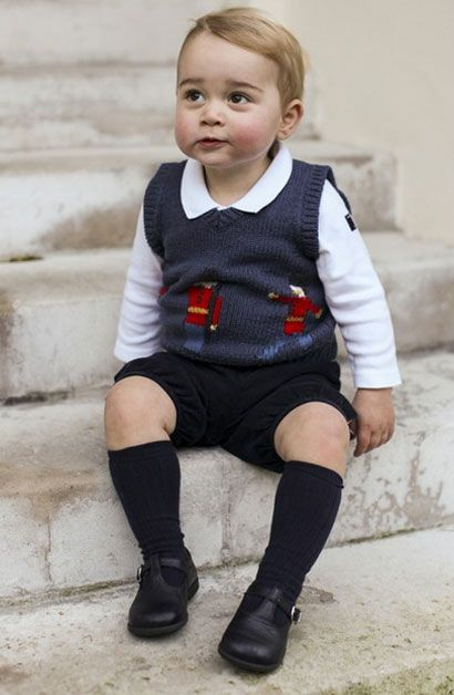 Le prince George, en novembre 2014