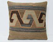 kilim pillow 24x24 euro sham pillow cover extra large pillow case big throw pillow huge decorative pillow giant floor pillow cushion 24104