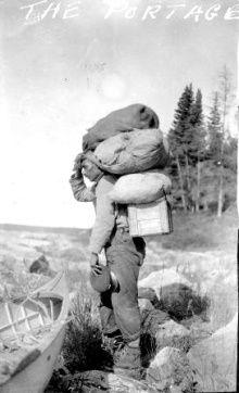 Anonyme, Portage. Saskatchewan Archives Board. Anonymous, The Portage, Saskatchewan Archives Board